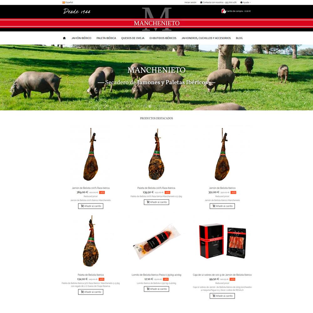 MANCHENIETO - Tienda de productos ibéricos